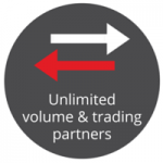 Unlimited volume & trading partners